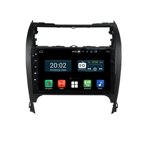 10.1 inch 1024x600 Touchscreen Android 10 Autoradio Stereo for Toyota Camry 2012 2013 2014 2015 2016 2017, Octa Core 1.5G CPU 32G Flash 4G DDR3 RAM. 2 Din Car GPS Navigation 3G 4G WIFI Bluetooth USB DSP Carplay&Auto Steering Wheel Control OBD2. Plug and Play cable Double Din Vehicle Multimedia System Head Unit.
