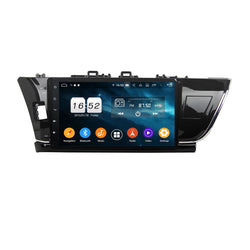 Android 9.0 Car GPS Navigation for Toyota Corolla/Auris(2014-2016) LHD, 4GB RAM+32GB ROM, 10.1 Inch Touchscreen DSP Radio Stereo Bluetooth 4G WIFI - foyotech