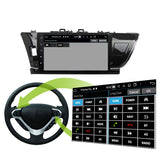 Android 10 Double Din 10.1 Inch Touchscreen Autoradio Headunit for Toyota Corolla/Auris 2014 2015 2016 left hand driving, Octa Core 1.5GB CPU 32GB Flash 4GB DDR3 RAM, Auto Radio GPS Navigation 3G 4G WIFI Bluetooth USB DSP Carplay&Auto Steering Wheel Control. 2Din Vehicle Touch Screen Multimedia Video Player System Head Unit.