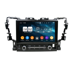 Android 9.0 Car GPS Navigation for Toyota Alphard(2015-2020), 4GB RAM+32GB ROM, 10.1 Inch Touchscreen DSP Radio Stereo Bluetooth 4G WIFI - foyotech