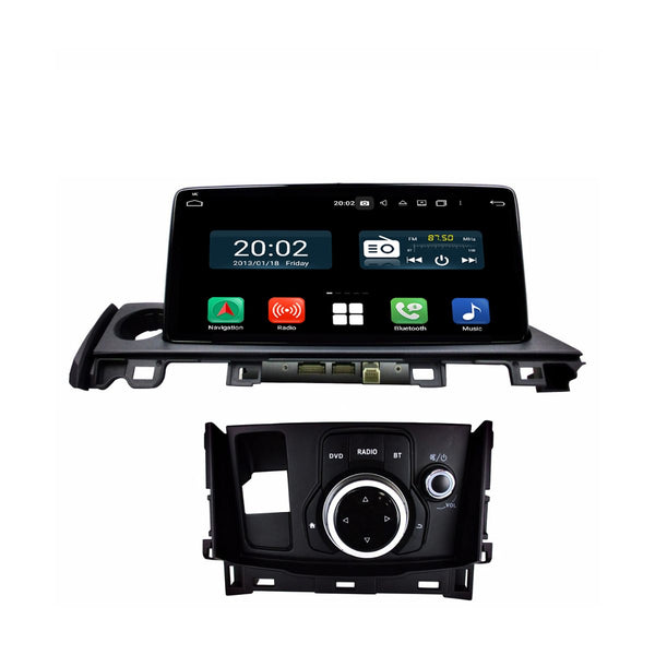 Android 10 1 Din 10.25 Inch 1024x600 Touchscreen Autoradio Headunit for Mazda6/Mazda Atenza 2017 2018 2019 2020, Octa Core 1.5GB CPU 32GB Flash 4GB DDR3 RAM, Auto Radio GPS Navigation 3G 4G WIFI Bluetooth USB DSP Carplay&Auto Steering Wheel Control. 1Din Vehicle Touch Screen Multimedia Video Player System Head Unit.