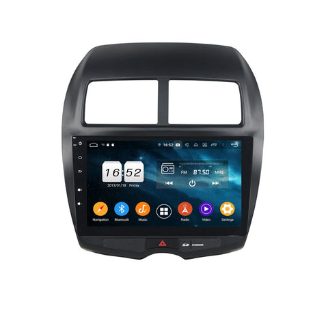 10.1 Inch Touchscreen Android 9.0 Auto Stereo for Mitsubishi RVR/ASX/Outlander Sport(2010-2017), 4GB RAM+32GB ROM, DSP Car Radio GPS Navigation Bluetooth 4G WIFI - foyotech