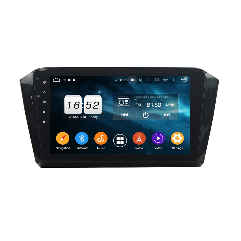 10.1 Inch Android 9.0 DSP Car Stereo for Volkswagen Magotan(2016-2020), 4GB RAM+32GB ROM, Auto GPS Navigation Bluetooth 4G WIFI Headunit - foyotech