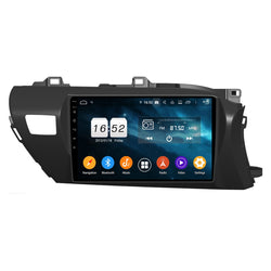 10.1 Inch Android 9.0 Car Stereo for Toyota Hilux(2016-2020) RHD, 4GB RAM+32GB ROM, Touchscreen DSP GPS Navigation Radio Bluetooth 4G WIFI - foyotech