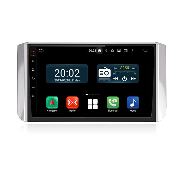 Android 10 Single Din 9 Inch Touchscreen Autoradio Headunit for Mitsubishi Xpander 2017 2018 2019 2020, Octa Core 1.5GB CPU 32GB Flash 4GB DDR3 RAM, Auto Radio GPS Navigation 3G 4G WIFI Bluetooth USB DSP Carplay&Auto Steering Wheel Control. 1 Din Vehicle Touch Screen Multimedia Video Player System Head Unit.