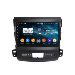 9 Inch Touchscreen Android 9.0 Auto GPS for Peugeot 4007(2006-2013), 4GB RAM+32GB ROM, DSP Car Radio Stereo Bluetooth 4G WIFI - foyotech