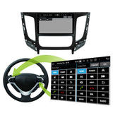 Android 10 Single Din 9 Inch Touchscreen Autoradio Headunit for Mitsubishi Triton L200 2015 2016 2017 2018 2019 2020, Octa Core 1.5GB CPU 32GB Flash 4GB DDR3 RAM, Auto Stereo GPS Navigation 3G 4G WIFI Bluetooth USB DSP Carplay&Auto Steering Wheel Control. 1 Din Vehicle Touch Screen Multimedia Video Player System Head Unit.