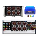 Android 10 Double Din 9 Inch Autoradio Headunit for Toyota Land Cruiser 100 2005 2006 2007, Octa Core 1.5GB CPU 32GB Flash 4GB DDR3 RAM, Auto Stereo GPS Navigation 3G 4G WIFI Bluetooth USB DSP Carplay&Auto Steering Wheel Control. 2Din Vehicle Touch Screen Multimedia Video Player System Head Unit.