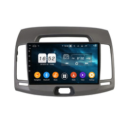 Android 9.0 Car Radio GPS for Hyundai Elantra(2008-2010), 9 Inch Touchscreen DSP Auto Stereo Bluetooth 4G WIFI, 4GB RAM+32GB ROM - foyotech