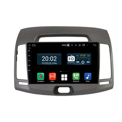 Android 10 Single Din 9 Inch Touchscreen Autoradio Headunit for Hyundai Elantra 2008 2009 2010, Octa Core 1.5GB CPU 32GB Flash 4GB DDR3 RAM, Auto Radio GPS Navigation 3G 4G WIFI Bluetooth USB DSP Carplay&Auto Steering Wheel Control. 1Din Vehicle Touch Screen Multimedia Video Player System Head Unit.