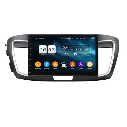 10.1 Inch Android 9.0 Car Video Player for Honda Accord 9(2015-2017), 4GB RAM+32GB ROM, Touchscreen DSP Radio GPS Navigation Stereo Bluetooth 4G WIFI - foyotech