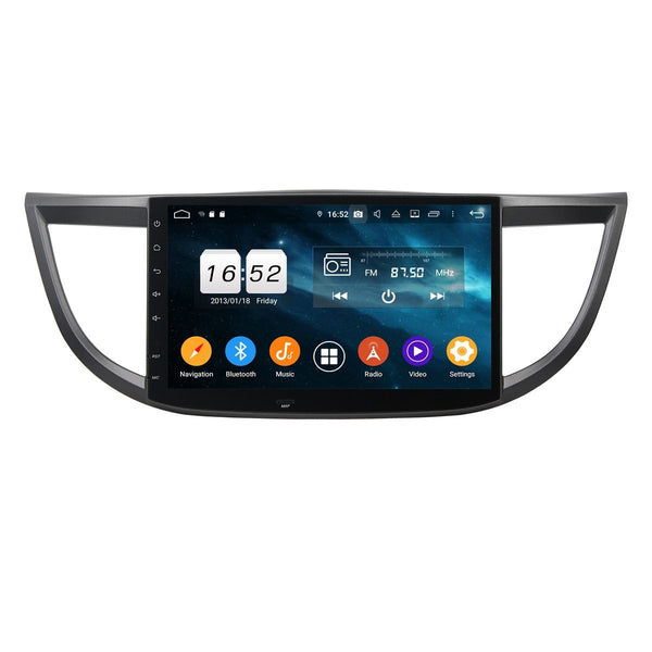 Car Radio Headunit for Honda CR-V(2012-2016), 4GB RAM+32GB ROM, 10.1 Inch Touchscreen Android 9.0 DSP GPS Navigation Stereo Bluetooth 4G WIFI - foyotech