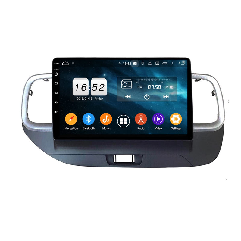 10.1 Inch Touchscreen Android 9.0 Autoradio for Hyundai Venue(2018-2020) RHD, 4GB RAM+32GB ROM, GPS Navigation DSP Stereo Bluetooth 4G WIFI - foyotech