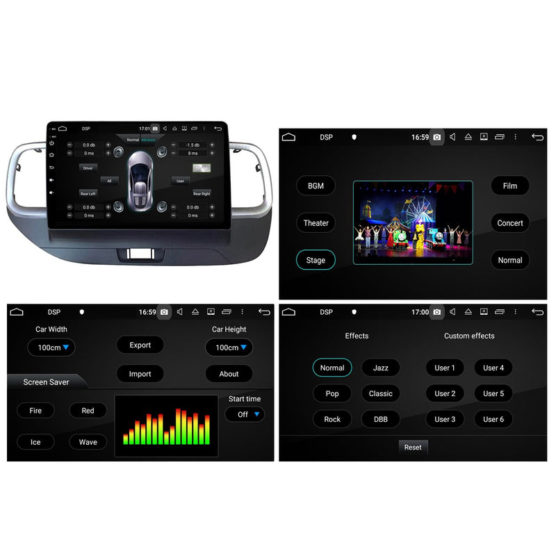 Android 10 Single Din 10.1 Inch 1024x600 Touchscreen Autoradio Headunit for Hyundai Venue 2018 2019 2020 right hand driving, Octa Core 1.5GB CPU 32GB Flash 4GB DDR3 RAM, Auto Stereo GPS Navigation 3G 4G WIFI Bluetooth USB DSP Carplay&Auto Steering Wheel Control. Vehicle Touch Screen Multimedia Video Player System Head Unit.