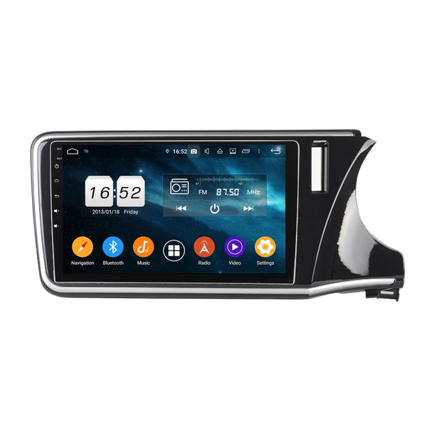 10.1 Inch Touchscreen Android 9.0 Car Stereo for Honda City(2015-2020) RHD, GPS Navigation DSP Radio Bluetooth 4G WIFI Head Unit, 4GB RAM+32GB ROM - foyotech