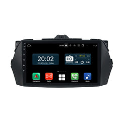 Android 10 1 Din 9 Inch 1024x600 Touchscreen Autoradio Headunit for Suzuki Ciaz 2013 2014 2015 2016 2017 2018 2019 2020, Octa Core 1.5GB CPU 32GB Flash 4GB DDR3 RAM, Auto Radio GPS Navigation 3G 4G WIFI Bluetooth USB DSP Carplay&Auto Steering Wheel Control. 1Din Vehicle Touch Screen Multimedia Video Player System Head Unit.