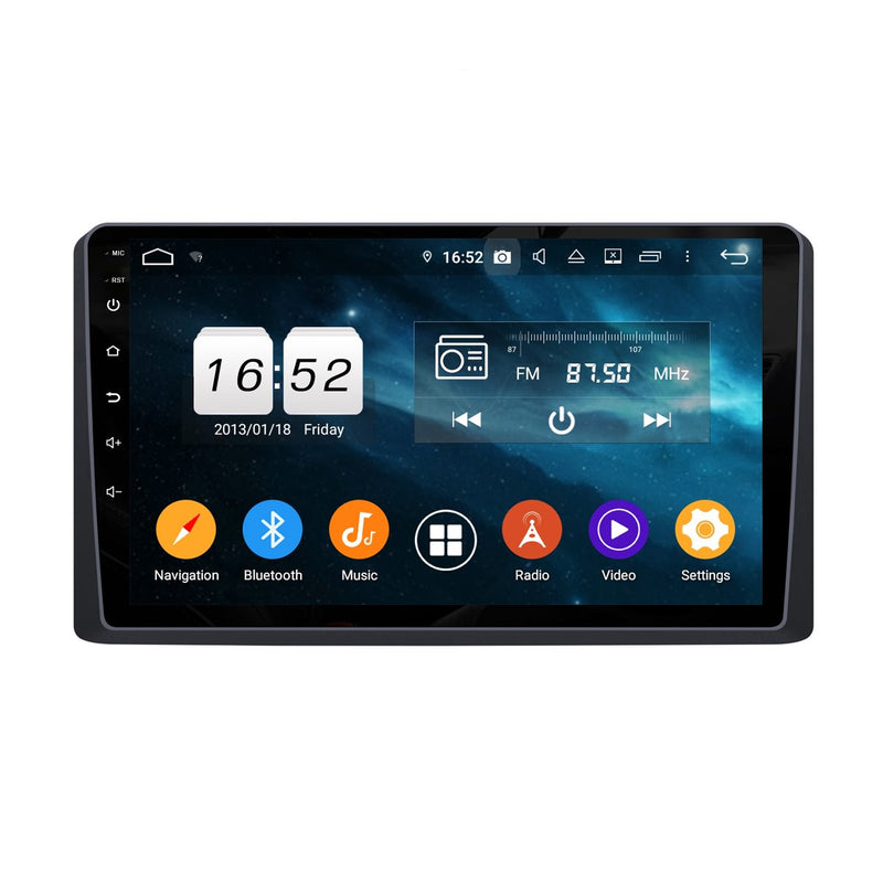 9 Inch Android 9.0 Car Radio for Kia Carnival Sedona(2019-2020), 4GB RAM+32GB ROM, Touchscreen GPS Navigation DSP Stereo Bluetooth 4G WIFI - foyotech
