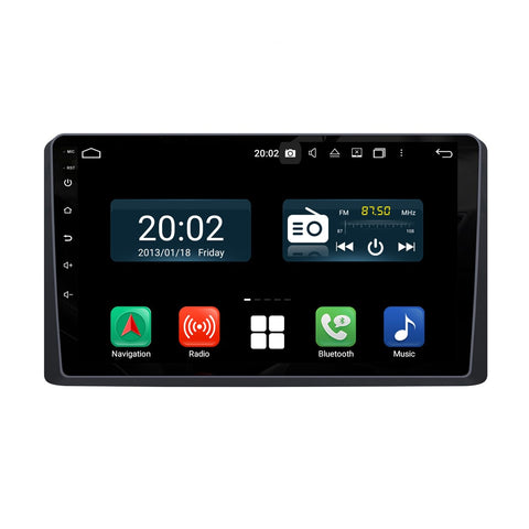Android 10.0 Single Din 9 Inch 1024x600 Touchscreen Autoradio Headunit for Kia Carnival Sedona 2019 2020, Octa Core 1.5GB CPU 32GB Flash 4GB DDR3 RAM, Auto Stereo GPS Navigation 3G 4G WIFI Bluetooth USB DSP Carplay&Auto Steering Wheel Control. 1Din Vehicle Touch Screen Multimedia Video Player System Head Unit.