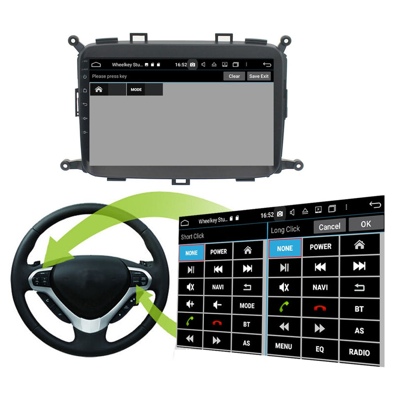 Android 10 Single Din 9 Inch 1024x600 Touchscreen Autoradio Headunit for Kia Carens 2013 2014 2015 2016 2017 2018 2019 2020, Octa Core 1.5GB CPU 32GB Flash 4GB DDR3 RAM, Auto Stereo GPS Navigation 3G 4G WIFI Bluetooth USB DSP Carplay&Auto Steering Wheel Control. 1Din Vehicle Touch Screen Multimedia Video Player System Head Unit.