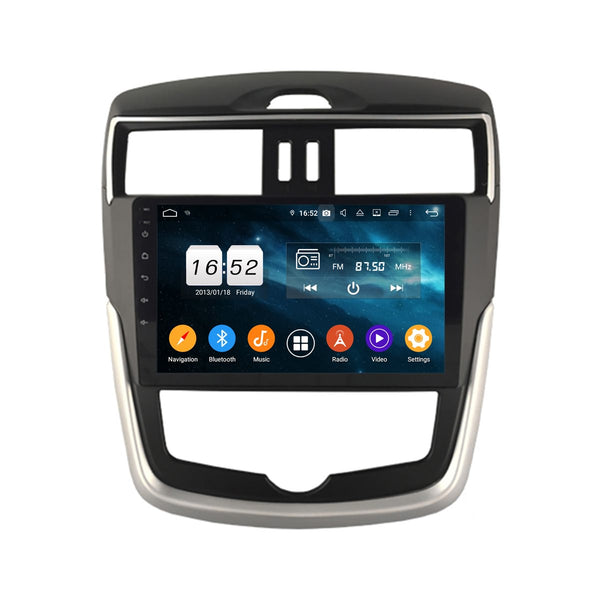 10.1 Inch Touchscreen Android 9.0 Car Radio for Nissan Tiida(2016-2020), 4GB RAM+32GB ROM, GPS Navigation DSP Stereo Bluetooth 4G WIFI - foyotech