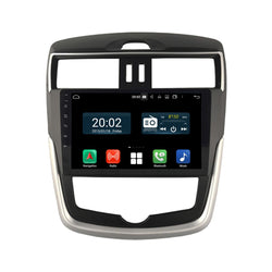 Android 10 Double Din 10.1 Inch 1024x600 Touchscreen Autoradio Headunit for Nissan Tiida 2016 2017 2018 2019 2020, Octa Core 1.5GB CPU 32GB Flash 4GB DDR3 RAM, Auto Stereo GPS Navigation 3G 4G WIFI Bluetooth USB DSP Carplay&Auto Steering Wheel Control. 2Din Vehicle Touch Screen Multimedia Video Player System Head Unit.