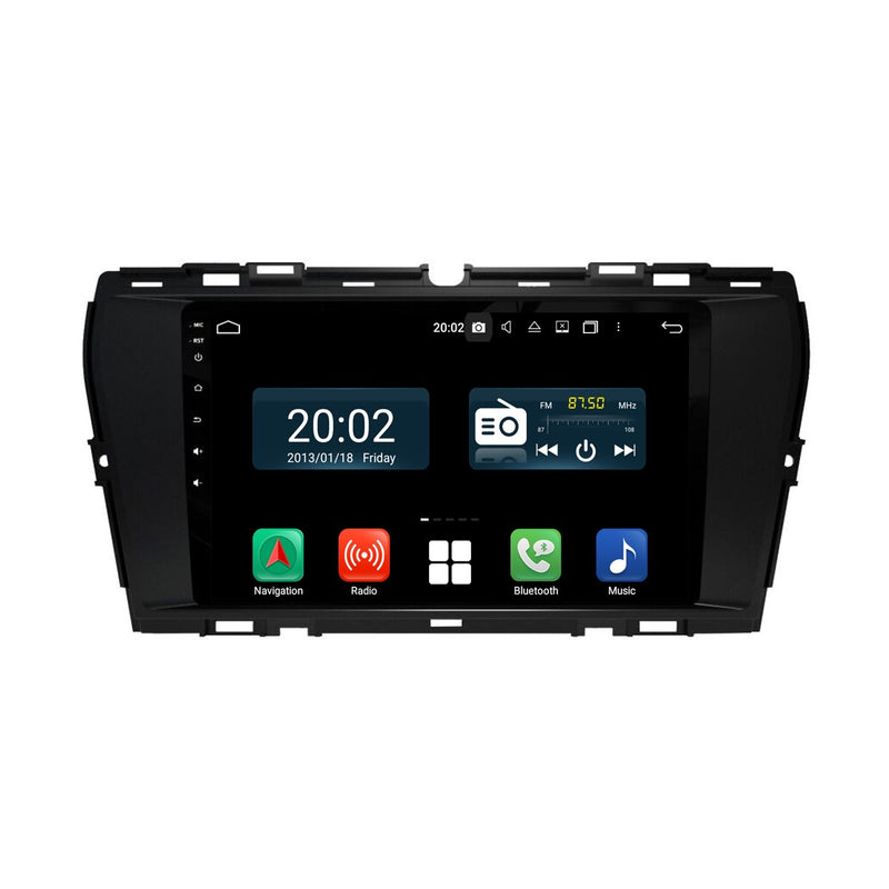 Android 10 Single Din 9 Inch 1024x600 Touchscreen Autoradio Headunit for Ssangyong Korando 2019 2020, Octa Core 1.5GB CPU 32GB Flash 4GB DDR3 RAM, Auto Radio GPS Navigation 3G 4G WIFI Bluetooth USB MirrorLink Steering Wheel Control. 1Din Vehicle Touch Screen Multimedia Video Player System Head Unit.