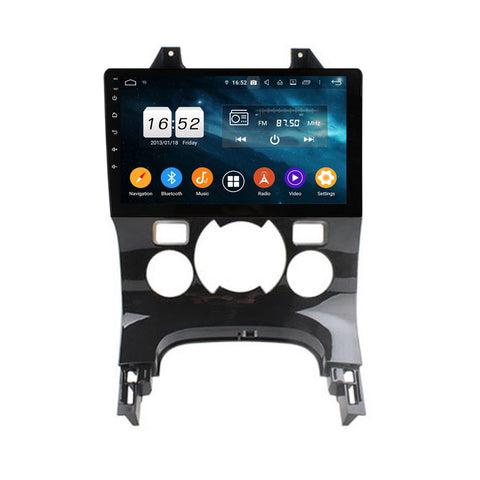 9 Inch Android 9.0 Auto Stereo for Peugeot 3008/5008(2009-2016), 4GB RAM+32GB ROM, Touchscreen Car GPS Navigation DSP Radio Bluetooth 4G WIFI Head Unit - foyotech
