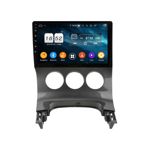 9 Inch Touchscreen Android 9.0 Auto Stereo for Peugeot 3008/5008(2009-2016), Car GPS Navigation DSP Radio Bluetooth 4G WIFI Head Unit, 4GB RAM+32GB ROM - foyotech