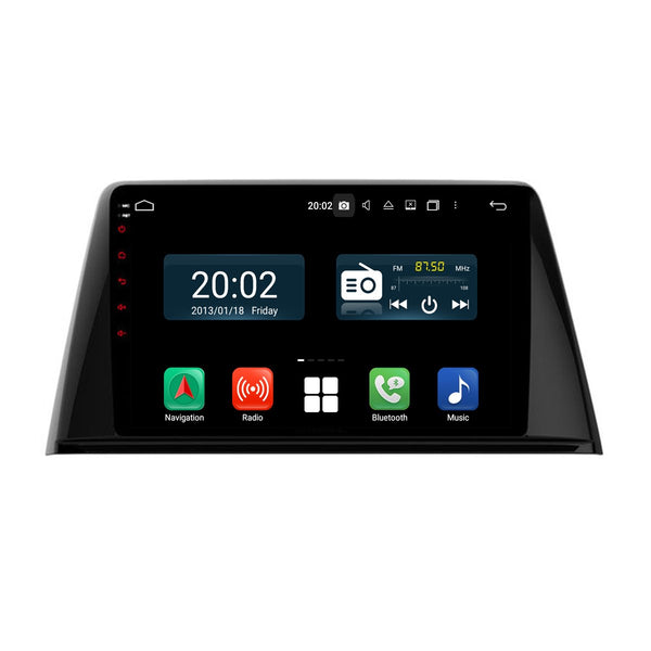 Android 10 Single Din 9 Inch Autoradio Headunit for Peugeot 308 2016 2017 2018 2019 2020, Octa Core 1.5GB CPU 32GB Flash 4GB DDR3 RAM, Auto Stereo GPS Navigation 3G 4G WIFI Bluetooth USB DSP Carplay&Auto Steering Wheel Control. 1Din Vehicle Touch Screen Multimedia Video Player System Head Unit.