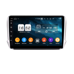 Android 9.0 Auto GPS Navigation for Peugeot 2008(2015-2020), 4GB RAM+32GB ROM, 10.1 Inch Touchscreen Auto Stereo DSP Radio Bluetooth 4G WIFI Head Unit - foyotech