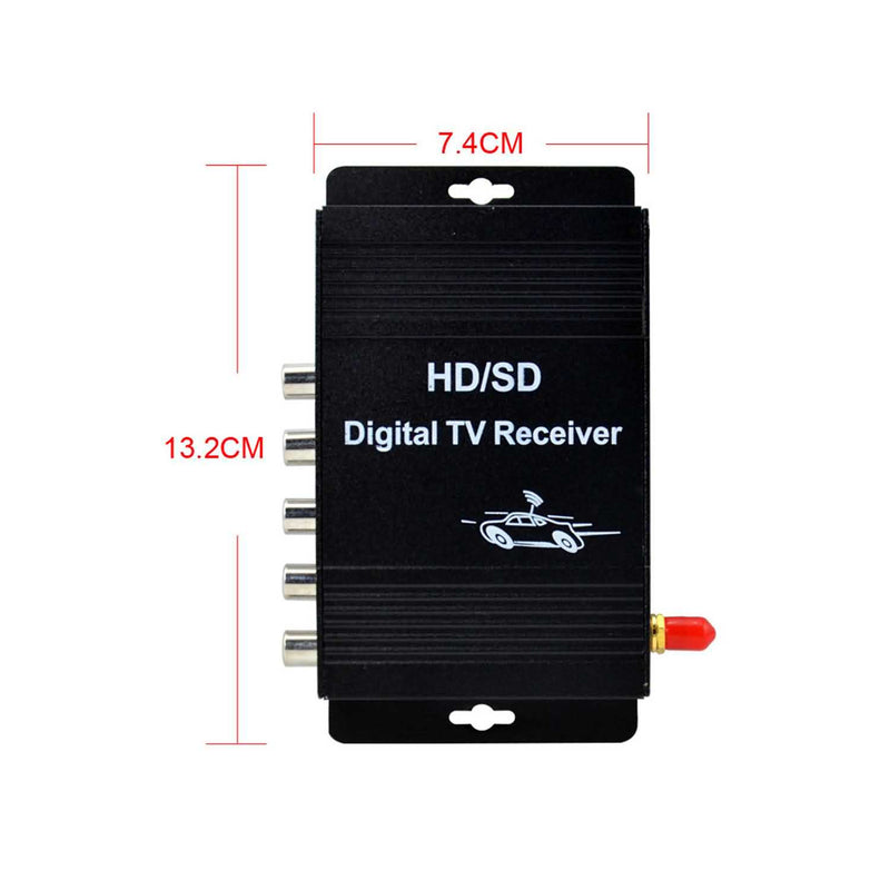 Car ISDB-T One Seg Digital TV Receiver Mobile ISDBT TV receiver For Japan Philippine Brazil and South America Countries - foyotech