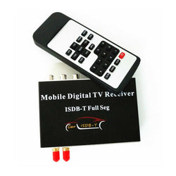 Mobile ISDB-T Full Seg Digital TV Receiver,Car ISDBT TV receiver For Japan Philippine Brazil and South America Countries