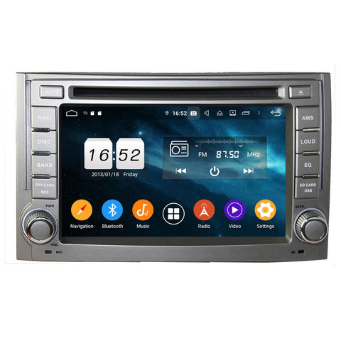 6.2 inch Android 9.0 OS Car Radio Headunit for Hyundai H1/Starex/IMAX/ILOAD/I800(2006-2013), Octa Core 1.5G CPU 4G DDR3 RAM 32G Flash, Auto DVD Player GPS Navigation Bluetooth 4G WIFI OBDII MirrorLink - foyotech