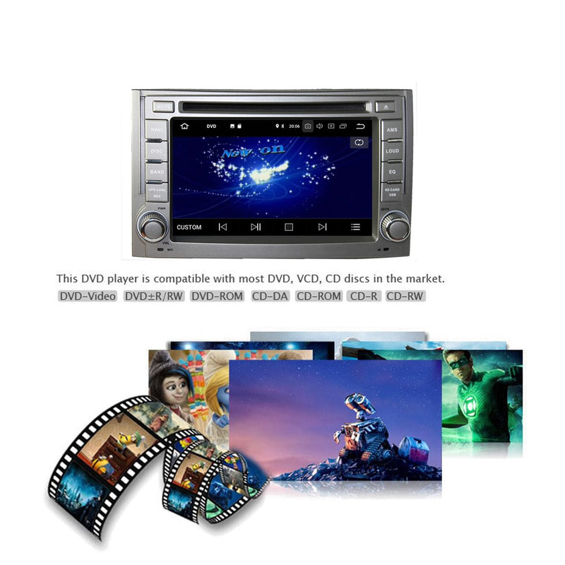 Touchscreen Android 10 Autoradio Stereo for Hyundai H1/Starex/IMAX/ILOAD/I800 2006 2007 2008 2009 2010 2011 2012 2013. 8 Core 1.5G CPU 32G Flash 3G 4G DDR3 RAM. 2 Din Car Radio GPS Navigation 3G 4G WIFI Bluetooth USB/SD DVD DSP Carplay Steering Wheel Control OBD2. Double Din Vehicle Multimedia Player System Head Unit