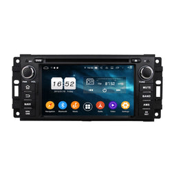 6.2'' Android 9.0 OS Car Radio for Jeep Compass(2009-2011)/Liberty(2008-2011)/Compass(2009-2011)/Wrangler(2007-2015)/Patriot(2009-2011), Auto DVD GPS Bluetooth 4G WIFI, 8 Core 1.5G CPU 4G DDR3 RAM 32G Flash - foyotech