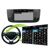 Android 10 OS 1 Din Autoradio Stereo Navigation Headunit for Fiat Punto/Linea 2012 2013 2014 2015 2016 2017. Octa Core 1.5G CPU 32G Flash 4G DDR3 RAM. Auto Radio GPS Navi 3G 4G WIFI Bluetooth USB DSP Carplay Auto Steering Wheel Control OBDII. Plug and Play cables Single Din Vehicle Multimedia Player System Head Unit.