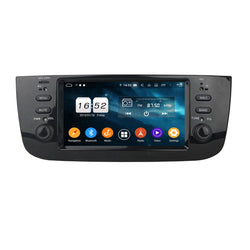 Android 9.0 OS Car GPS Navigation for Fiat Punto/Linea(2012-2017), Octa Core 1.5G CPU 4G DDR3 RAM 32G Flash, 6.1 inch Touchscreen Auto Radio Stereo Bluetooth 4G WIFI OBD2 MirrorLink - foyotech