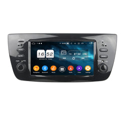 Android 9.0 OS Car DVD Player GPS Navigation for Fiat Doblo(2010-2015), 8 Core 1.5G CPU 4G DDR3 RAM 32G Flash, 6.1 inch Touchscreen Auto Radio Stereo Bluetooth 4G WIFI OBD2 MirrorLink - foyotech