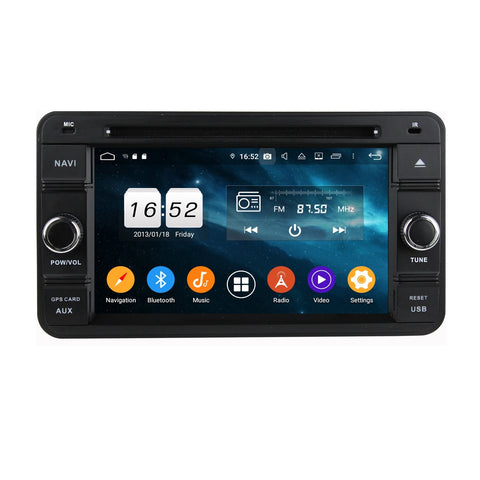 6.2 inch Android 9.0 OS Car Radio for Suzuki Jimny(2007-2013), Octa Core 1.5G CPU 4G DDR3 RAM 32G Flash, Auto DVD Player GPS Navigation Bluetooth 4G WIFI OBDII MirrorLink Headunit - foyotech