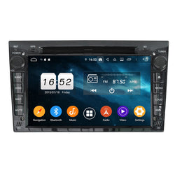 (Black) 7 inch Touchscreen Android 9.0 OS Car DVD GPS Navigation for Opel Vauxhall Antara/Zafira/Corsa/Meriva/Astra H, 8 Core 1.5G CPU 4G DDR3 RAM 32G Flash, Auto Radio Stereo Bluetooth 4G WIFI OBD2 MirrorLink - foyotech