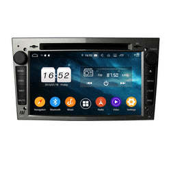(Gray) Android 9.0 OS 7 inch Touchscreen Car DVD Player GPS for Opel Vectra/Antara/Zafira/Corsa/Meriva/Astra, 8 Core 1.5G CPU 4G DDR3 RAM 32G Flash, Auto Radio Stereo Bluetooth 4G WIFI OBD2 MirrorLink - foyotech
