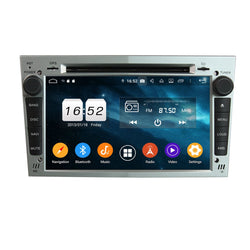 (Silver) Android 9.0 OS 7 inch Touchscreen Car GPS Headunit for Opel Vectra/Antara/Zafira/Corsa/Meriva/Astra, 8 Core 1.5G CPU 4G DDR3 RAM 32G Flash, Auto Radio Stereo Bluetooth 4G WIFI DVD Player OBD2 MirrorLink - foyotech