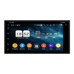 6.95 inch Touchscreen Android 9.0 OS Car Radio GPS Navigation Headunit for Nissan Tiida/Qashqai/Sunny/X-Trail/Paladin/Frontier/Murano/Livina, Octa Core 1.5G CPU 4G DDR3 RAM 32G Flash, Auto Stereo Bluetooth 4G WIFI OBD2 MirrorLink - foyotech