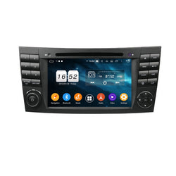 Android 9.0 Pie OS 1024x600 Touch Screen Autoradio Headunit for Benz W211(2002-2008)/W219(2004-2008)/W463(2001-2008), Otca Core 1.5G CPU 32G Flash 4G DDR3 RAM, Auto Radio GPS Navigation 3G 4G WIFI Bluetooth USB/SD MirrorLink Steering Wheel Control. Double Din Vehicle Multimedia Player System Head Unit. Plug and Play!