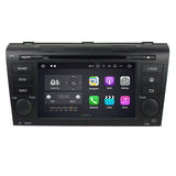 7 Inch Android 7.1 2 Din Autoradio Stereo Navigation Headunit for Mazda3 2004 2005 2006 2007 2008 2009. Quad Core 1.5G CPU 16G Flash 2G DDR3 RAM. Auto Radio GPS 3G WIFI Bluetooth USB/SD DVD Player MirrorLink Steering Wheel Control OBDII. Plug and Play Double Din Vehicle Multimedia Player System Head Unit