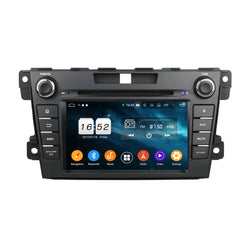 7 inch Android 9.0 OS Car Radio GPS Navigation Headunit for Mazda CX-7(2012-2014), Octa Core 1.5G CPU 4G DDR3 RAM 32G Flash, Auto DVD Player Stereo Bluetooth 4G WIFI OBD2 MirrorLink - foyotech
