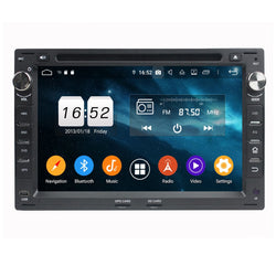 (Black) 7 inch Touchscreen Android 9.0 OS Car DVD Player for Volkswagen Passat B5/Golf 4/Polo/Bora/Jetta/Sharan/T5, Octa Core 1.5G CPU 4G DDR3 RAM 32G Flash - foyotech