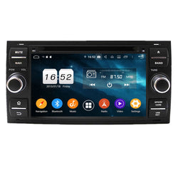 (Black) Android 9.0 OS 7 inch Touchscreen Car GPS for Ford Focus(2005-2007)/Fiesta(2005-2008)/Kuga(2008-2011)/Mondeo(2003-2007)/S-MAX(2005-2009)/C-MAX(2006-2010)/Galaxy(2000-2009)/Fusion(2006-2011) - foyotech