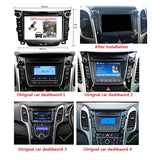 Android 9.0 OS 7 inch Touchscreen Car GPS Navigation Radio Headunit for Hyundai Elantra GT/I30(2011-2018), Octa Core 1.5G CPU 4G DDR3 RAM 32G Flash, Auto DVD Player Bluetooth 4G WIFI OBDII MirrorLink - foyotech