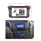 1024x600 Touchscreen Android 10 Autoradio Stereo for Hyundai I40 2011 2012 2013 2014 2015. Octa Core 1.5G CPU 32G Flash 3G 4G DDR3 RAM. 2 Din Car Radio GPS Navigation 3G 4G WIFI Bluetooth USB/SD DVD DSP Carplay Auto Steering Wheel Control OBDII. Plug and Play Double Din Vehicle Multimedia Player System Head Unit.